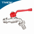 DN15 factory direct normal temperature cw617 material natural brassy bibcock control valve with safety structure in china