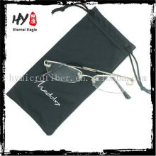 Hochwertiger Mikrofaserbeutel mit aufgedrucktem Logo, Brillenetuis, PVC-Kordelzug-Taschen
