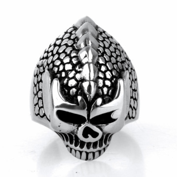 Wholesale Mens handmade skull finger ring