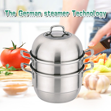 ChaoZhou stainless steel three Layer steamed pot