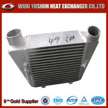 manufacturer of aluminum plate and bar intercooler for construction vehicle