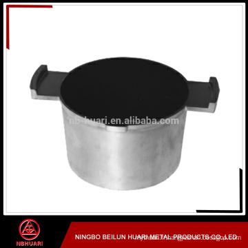 Pot en mousse moulé en aluminium revêtu de teflon pour cuiseur de riz