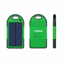 Solar Panel Power Bank Vattentät Solar Mobil Laddare