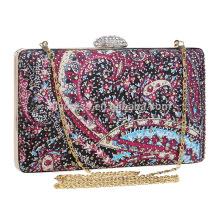 New Designs Evening Evening Evening Clutch Bag Saco de noiva para casamento Evening Party Bridal Handbags B00116 saco de embreagem feminino