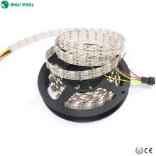 15мм 120 светодиодов/м smd5050 Сид в RGB ws2812b sk6812 5В dotstar двойной светодиодный пиксель полосы