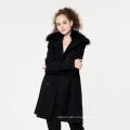 New Fashion Winter Girls Fur Collar Coat