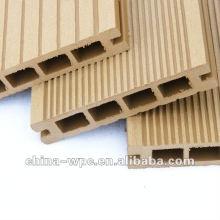 revestimento exterior de madeira oco