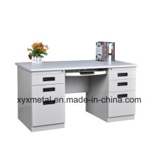 Hot Sale Double Side Drawers Steel Office Desk From China