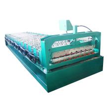 Techo de color corrugado hoja de hierro que hace la máquina de china