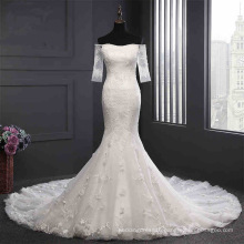 off The Shoulder Lace Mermaid Bridal Wedding Gown