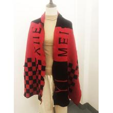 Custom Knitted Print Scarf for Women