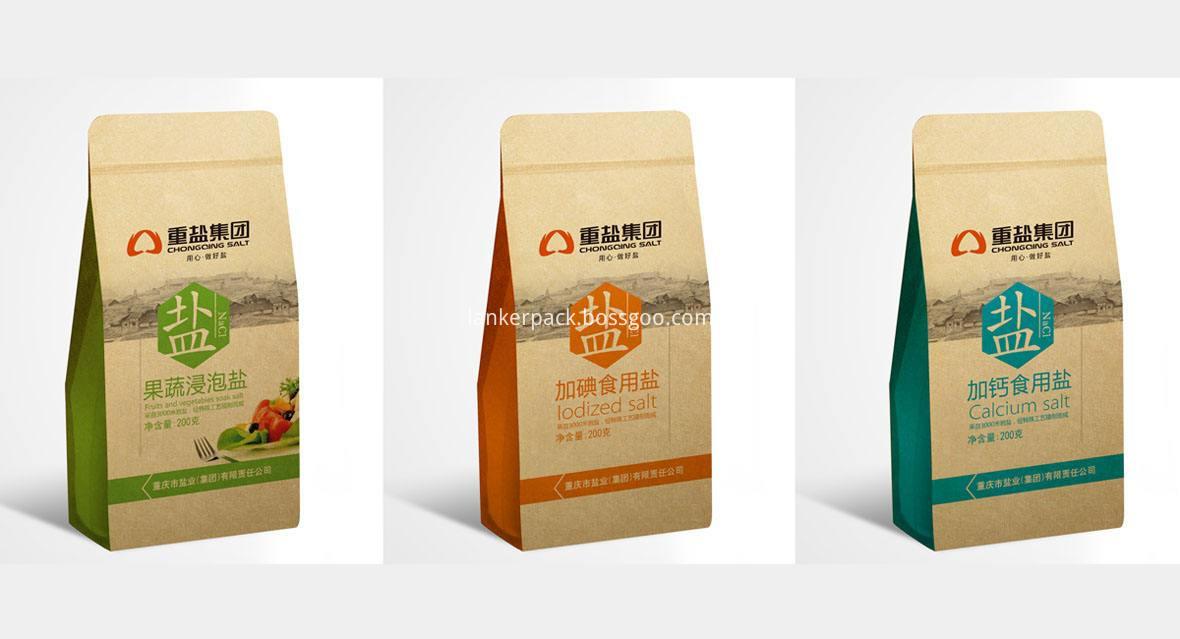 Kraft Paper Bags For Salt