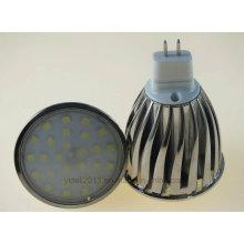 Iluminação do bulbo do diodo emissor de luz de MR16 6W 7W 2835 SMD
