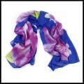 Bufanda multicolora vendedora caliente de la gasa de la playa de la señora de la impresión de la manera