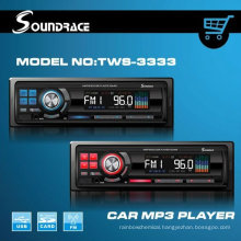 LCD car mp3 player with usb interface and DVD panel fm transmitterTWS-3333