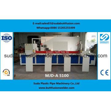 Máquina de corte plástica da folha de 5050mm com espessura de 1-80mm