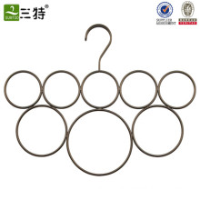 customize metal ring scarf display hanger