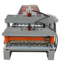 Machine de formage de dalles de marche en panneau de toit vitré