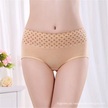 Ropa interior de algodón listo para las mujeres zhudiman ropa interior de las mujeres del sexo de la marca de fábrica alta ropa interior atractiva de las mujeres de la cintura de la alta calidad