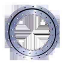 Rolamento giratório de bola dupla linha (tipo de engrenagem interno)