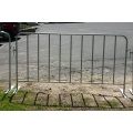 Galvanized Crowd Control Traffic Safety Barrier berkualiti tinggi
