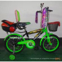 """com cesta dianteira e caixa de ferramentas traseira 12 """"/ 16"""" / 20 """"bicicleta de bicicleta de crianças BMX (FP-KDB-17051)"""