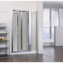 Aluminum Bifold Shower Door + Inline (WA-IB090)