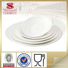 Platos / plato de cerámica al por mayor, vajilla barata, plato de sopa