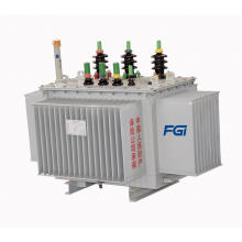 Transformateur de distribution du type d'huile à haute efficacité