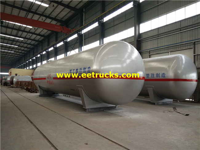 100m3 25000 Gallon Propane Gas Tanks