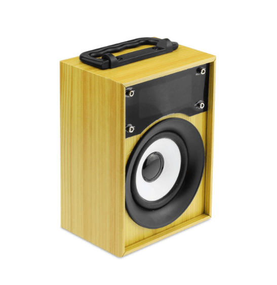 Burlywood freshness wooden bluetooth speaker