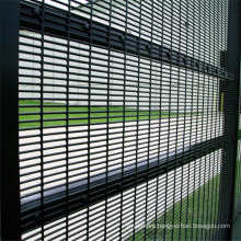 Metal Frame Material and Powder Coated Frame Finishing clear view fence