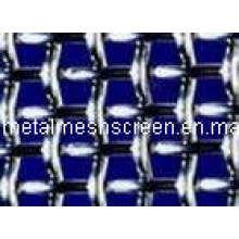 Gekräuselten Wire Mesh Metallschirm