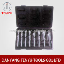 DIN345 Morse taper shank twist drill bit for drilling steel