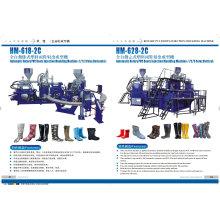 Dreh-PVC-Gumboots, die Maschine herstellen
