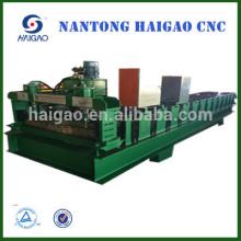 Rodillo de acero del color del CNC que hace la máquina