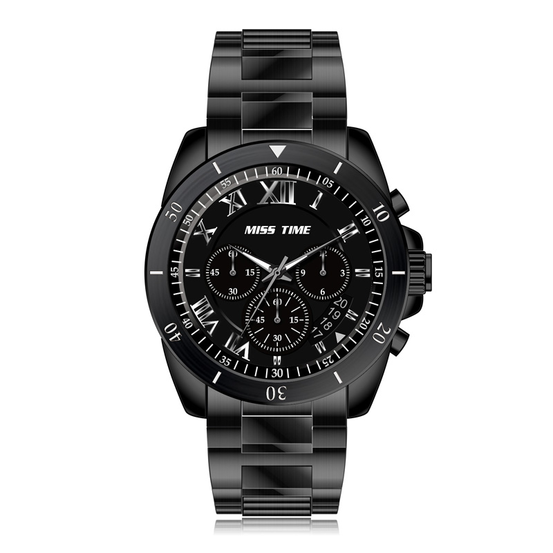 316l stainless steel custom men watch