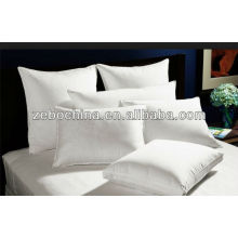 Deluxe design direct factory made 100% cotton cover custom wholesale hotel white plain throw pillow