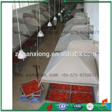 Équipement de séchage de légumes en Chine