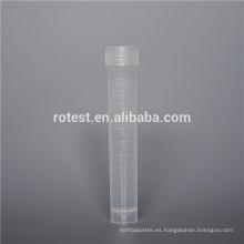 Tubo criogénico de congelación del tubo criogénico de la muestra 10ml