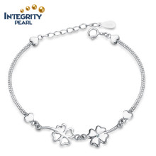 Lucky Four Leits Fashion Bracelet en argent sterling 925