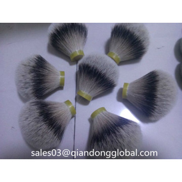 Premium Silvertip badger hair knots