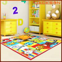 Adoucir le tapis de décoration de chambre d'enfant