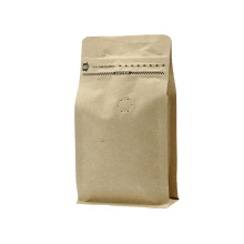 Kraft Paper Coffee Bag Pouch