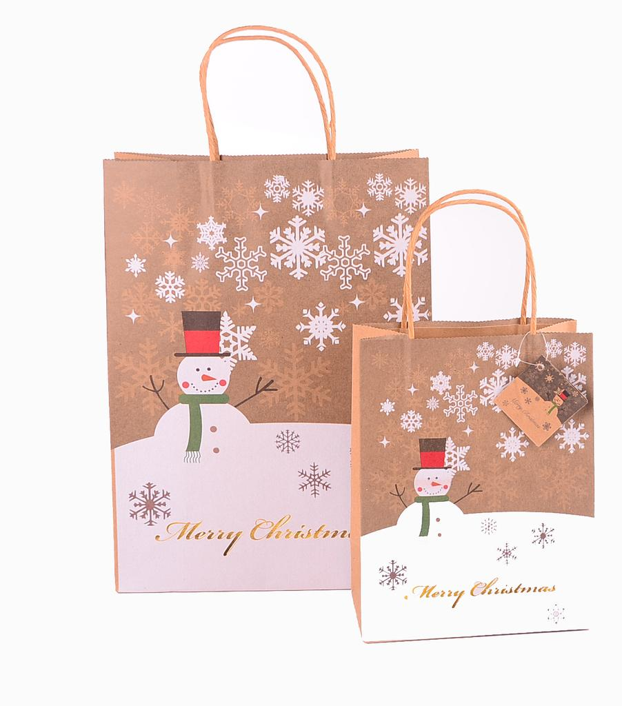 Christmas Colored paper bag
