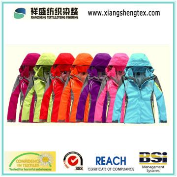 100% Nylon Taslon Teflon imperméable en nylon tissu pour vêtements de sport en plein air Down Proof
