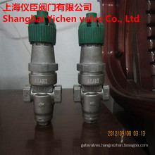 Direct Acting Bellows Pressure Reducing Valve