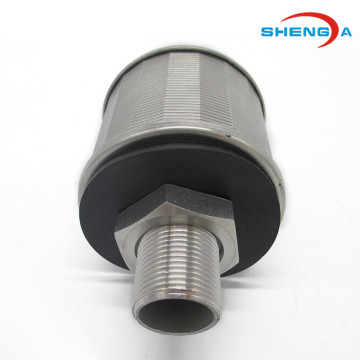 SS304 OD 53mm Nozzle Penapis Air