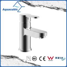 Solid Brass Body Chromed Surface Bathroom Basin Tap Faucet (AF8302-6)
