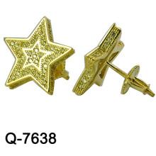 Neuer Entwurf 925 silberne Art- und Weiseohrring-Schmucksachen (Q-7638 JPG)